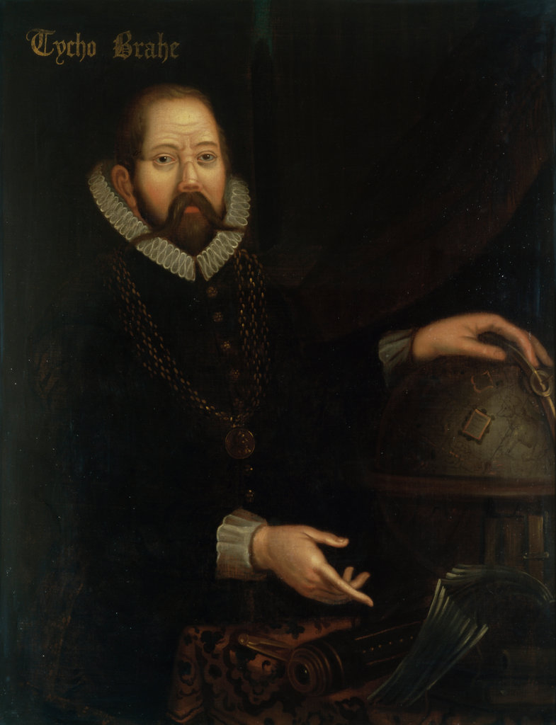 Stock Photo: 862-1340 Tycho Brahe