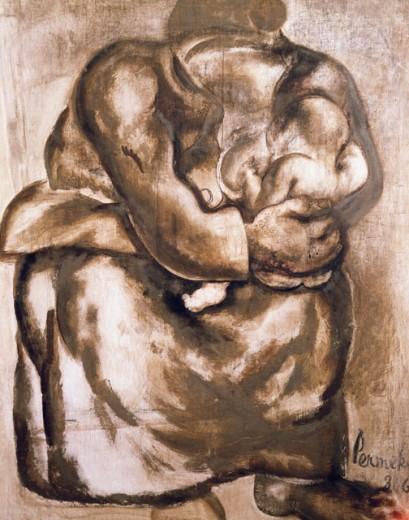 Maternity 1936 Permeke, Constant(1886-1952 ) Konstant Parmeke Museum, Jabbeke, Belgium : Stock Photo