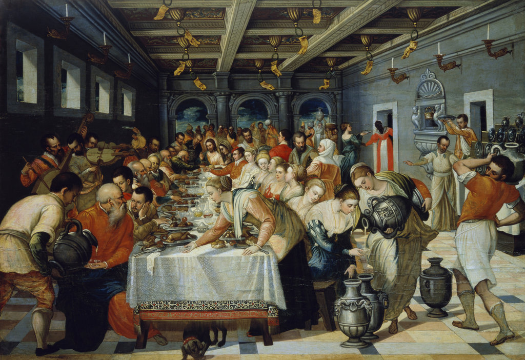 Stock Photo: 862-1385 The Marriage Feast at Cana