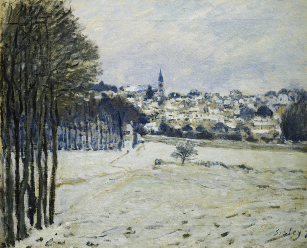 Stock Photo: 862-1386 The Snow at Marly-le-Roi