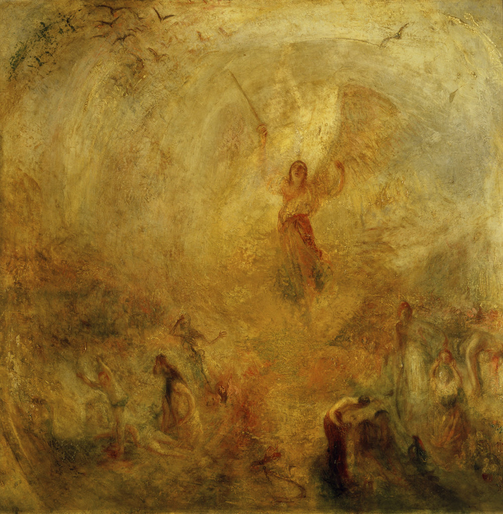 Stock Photo: 862-1388 The Angel Standing in the Sun