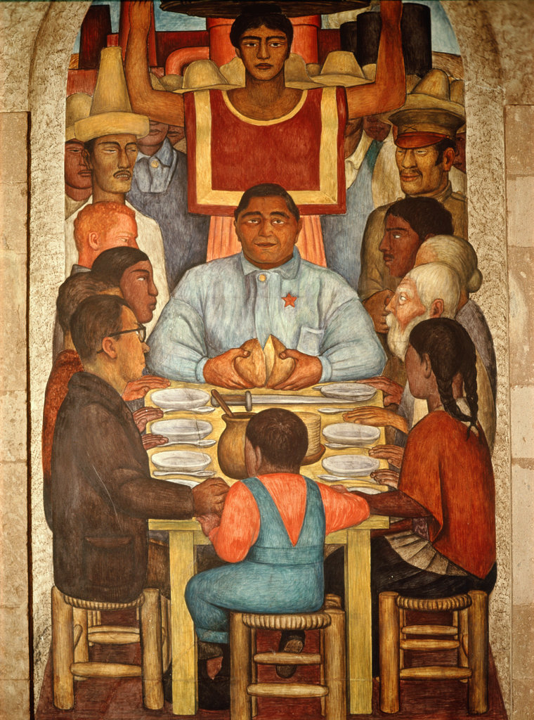 Stock Photo: 862-1392 El Pan Nuestro