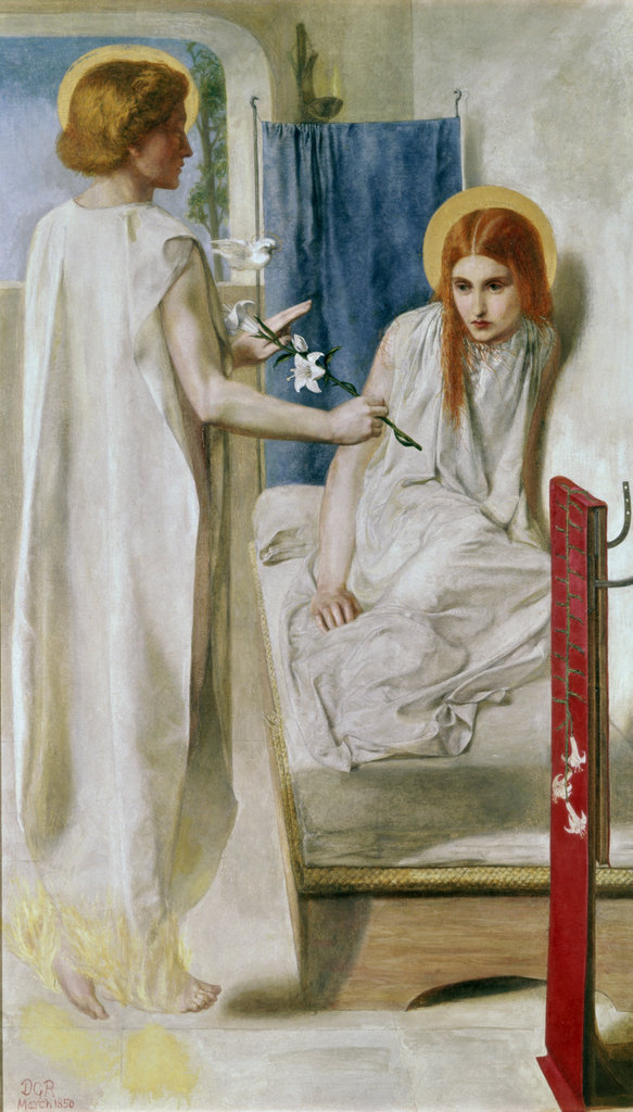 Stock Photo: 862-1416 Ecce Ancilla Domini (The Annunciation)