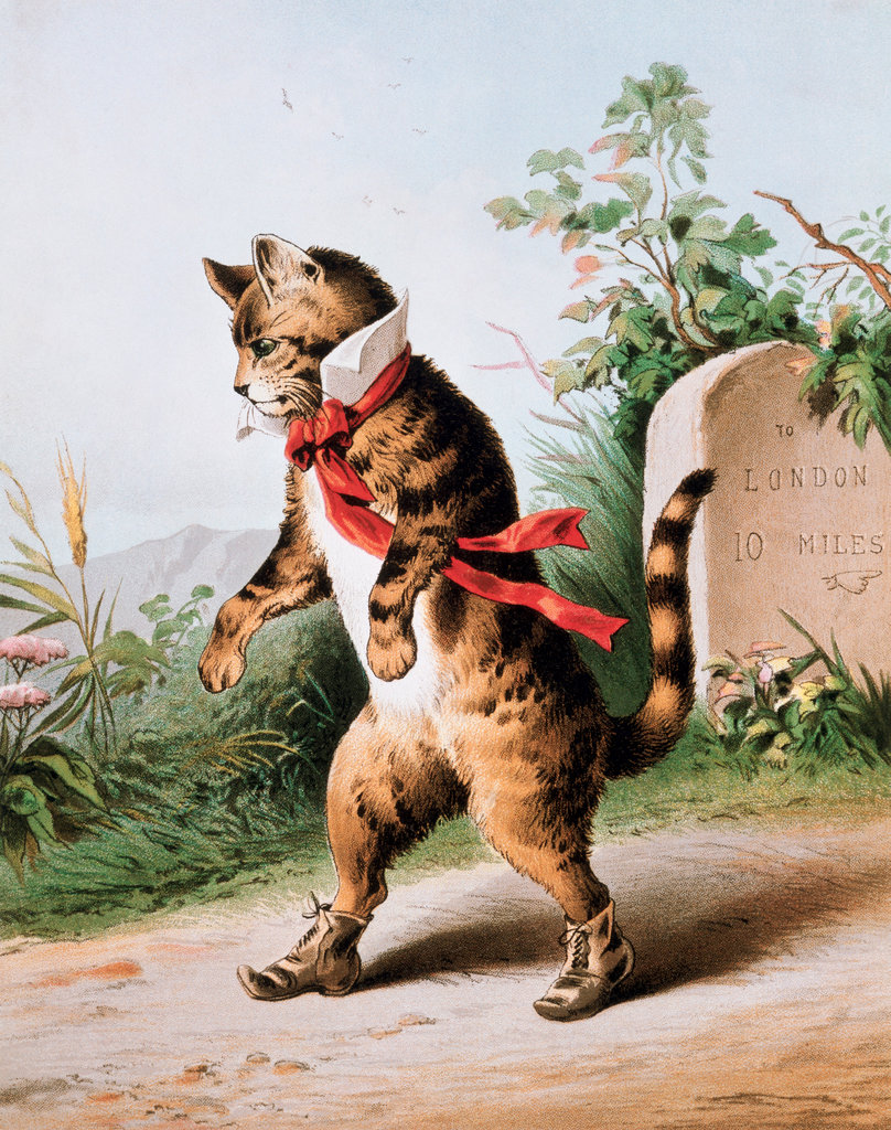 Dick Whittington's Cat Nears London