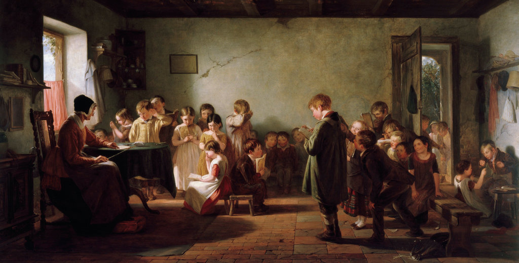 Stock Photo: 862-1437 Dames School
