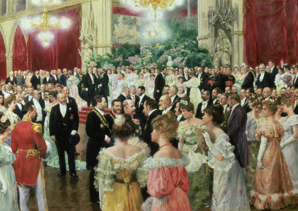 Stock Photo: 862-1493 Vienna State Ball