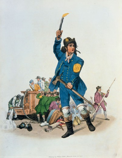Stock Photo: 862-1557 Fireman 