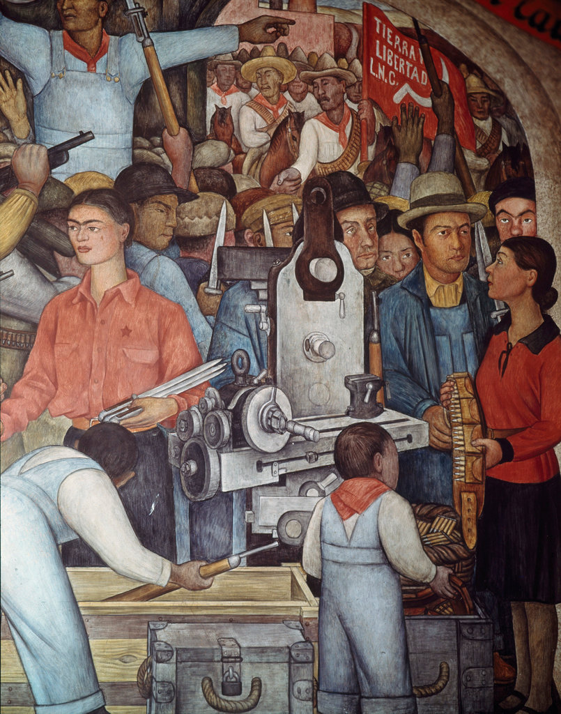 Insurrection--The Distribution of Arms (Detail)