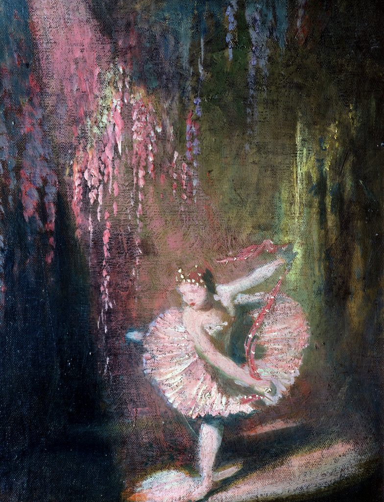 Stock Photo: 862-1563 Sugar Plum Fairy (Nutcracker Sleeping Beauty)