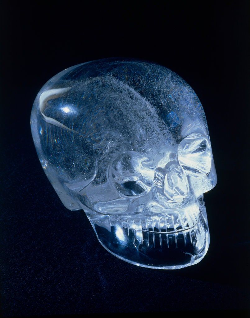Stock Photo: 862-1589 Aztec Crystal Skull