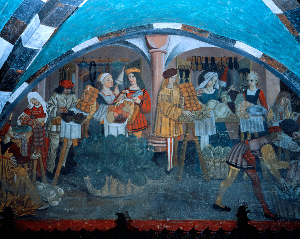 Stock Photo: 862-1594 Fruit and Vegetable Market