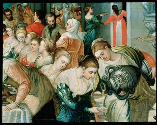 The Marriage Feast At Cana (Detail)