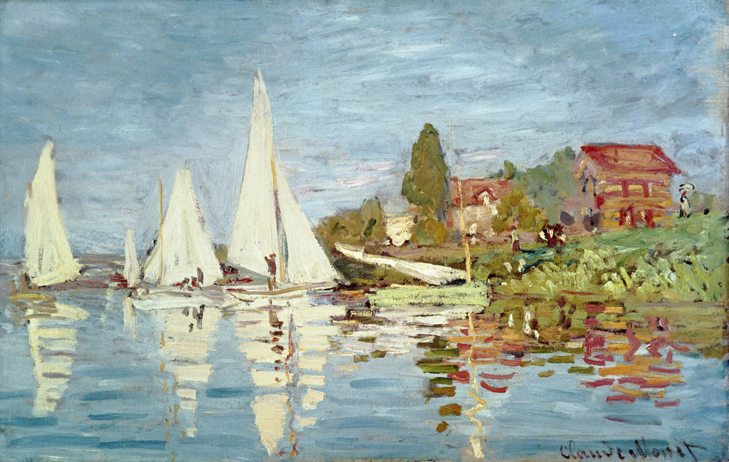 Stock Photo: 862-1711 Regatta at Argenteuil