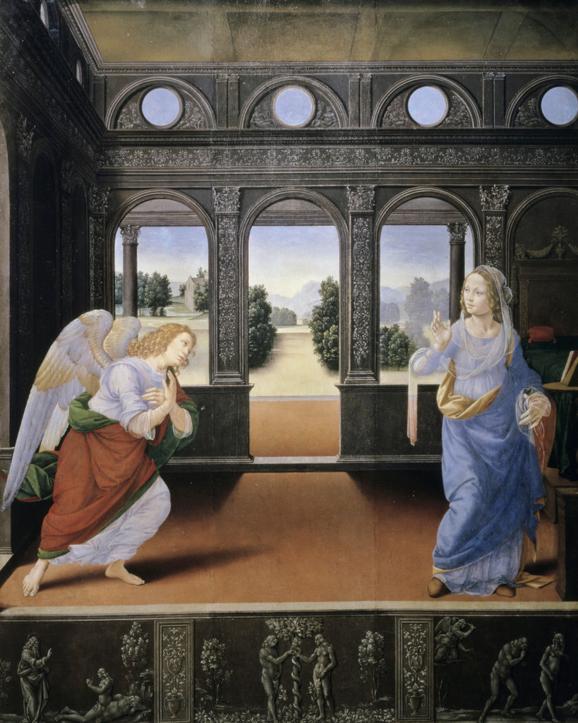 Stock Photo: 862-1832 The Annunciation