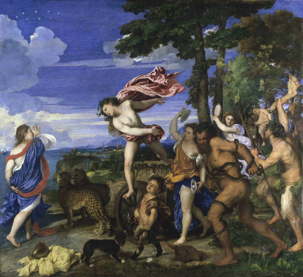 Stock Photo: 862-1833 Bacchus and Ariadne