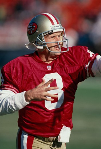 Steve Young, Quarterback, San Francisco 49ers : Stock Photo