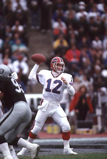 Stock Photo: 863-W160 Jim Kelly, Quarterback, Buffalo Bills
