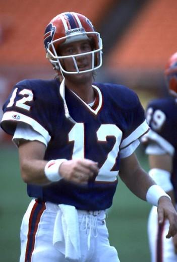 Stock Photo: 863-W161 Jim Kelly, Quarterback, Buffalo Bills
