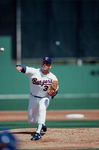 Nolan Ryan, Pitcher, Texas Rangers : Stock Photo