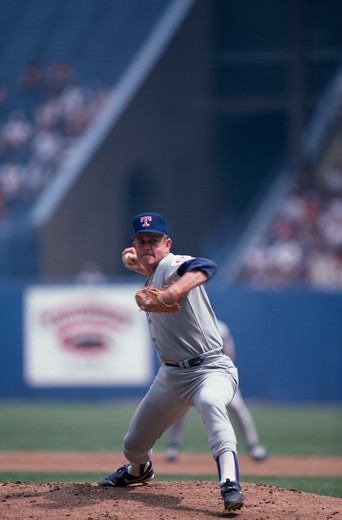 Nolan Ryan, Pitcher, Texas Rangers : Stock Photo