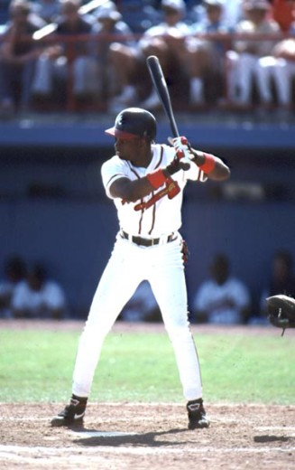 Stock Photo: 863-W190 Dave Justice