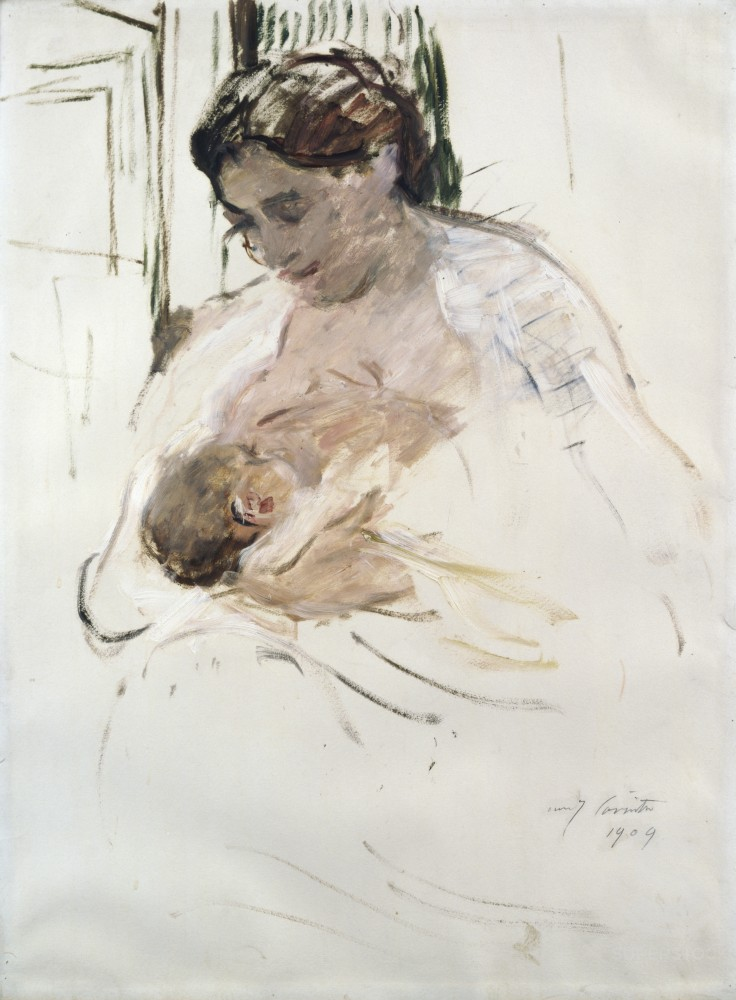 Charlotte with Wilhelmine 