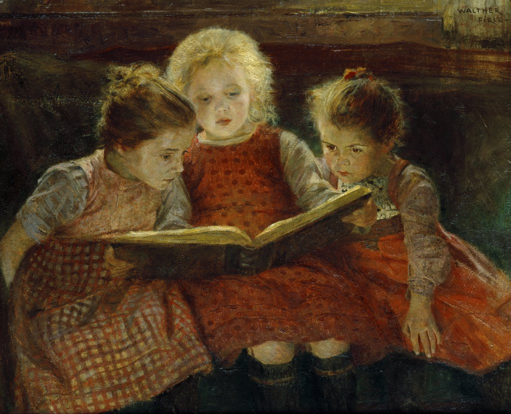 Stock Photo: 866-3497 A Good Book 