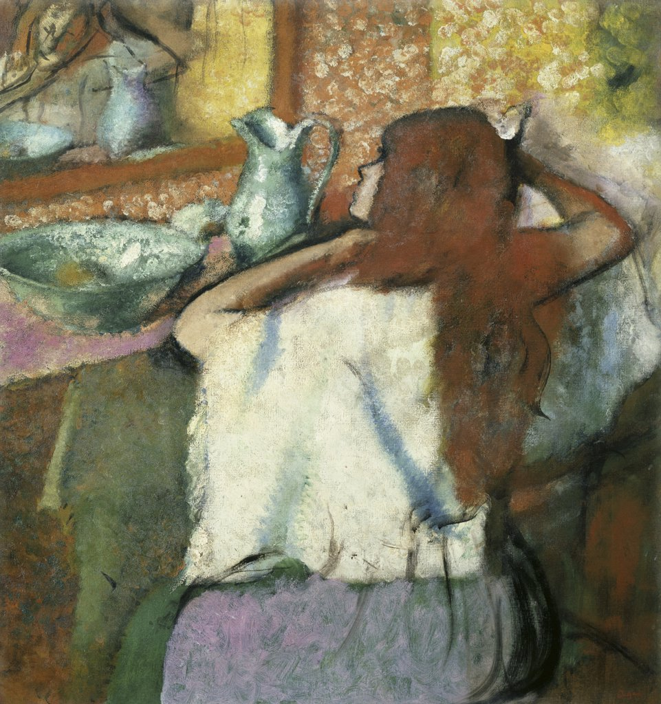 Stock Photo: 866-3529 Woman at her Toilette