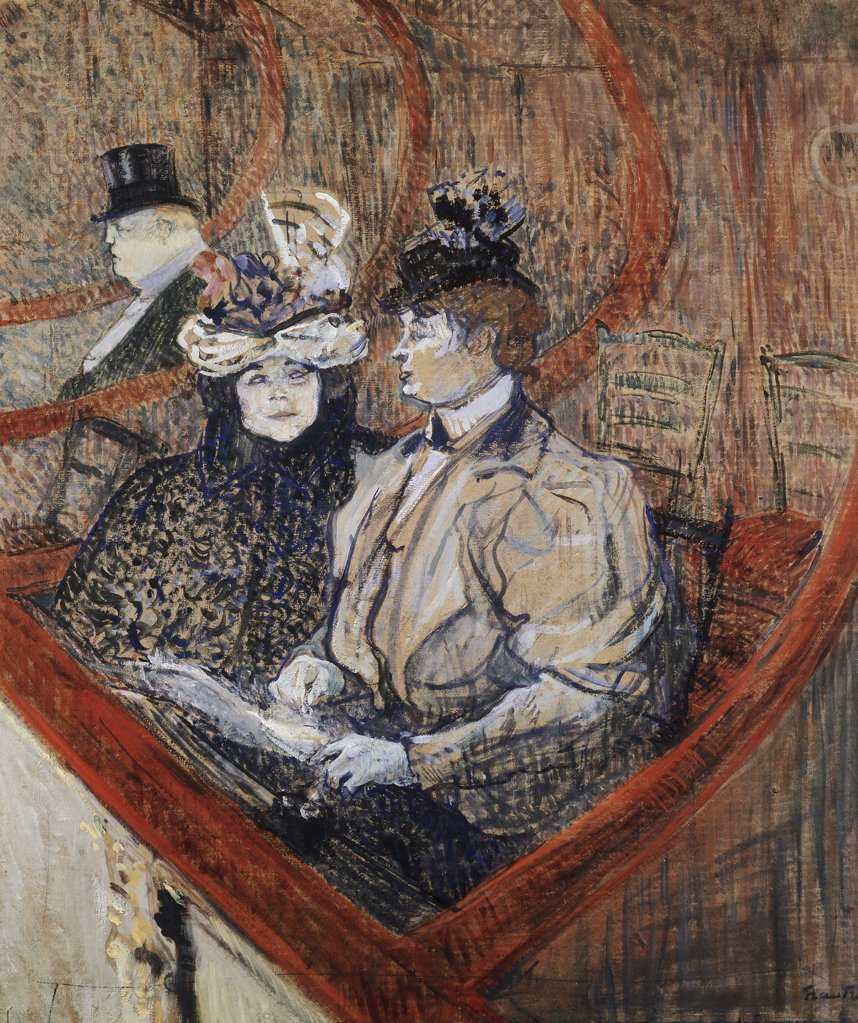 Stock Photo: 866-3560 La Grande Loge