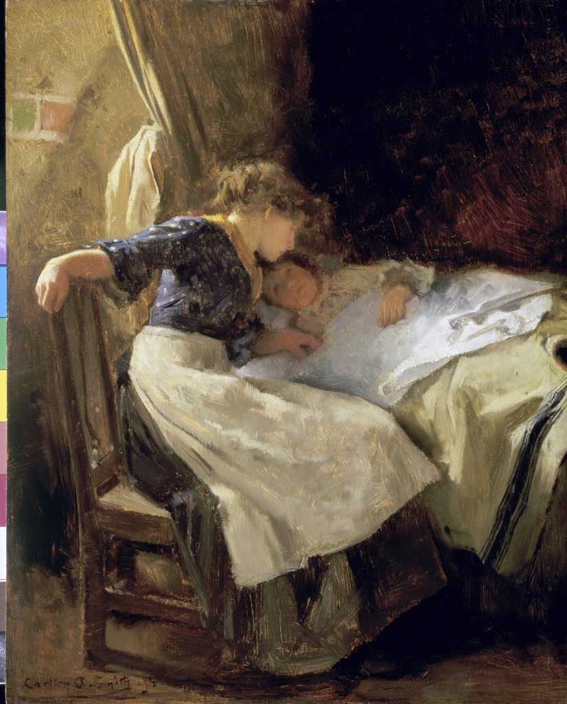 Stock Photo: 866-3674 Bedtime 