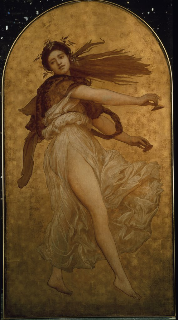 Stock Photo: 866-3794 The Dance of the Cymbalists, by Lord Frederic Leighton, (1830-1896), England, London, Christie's Images