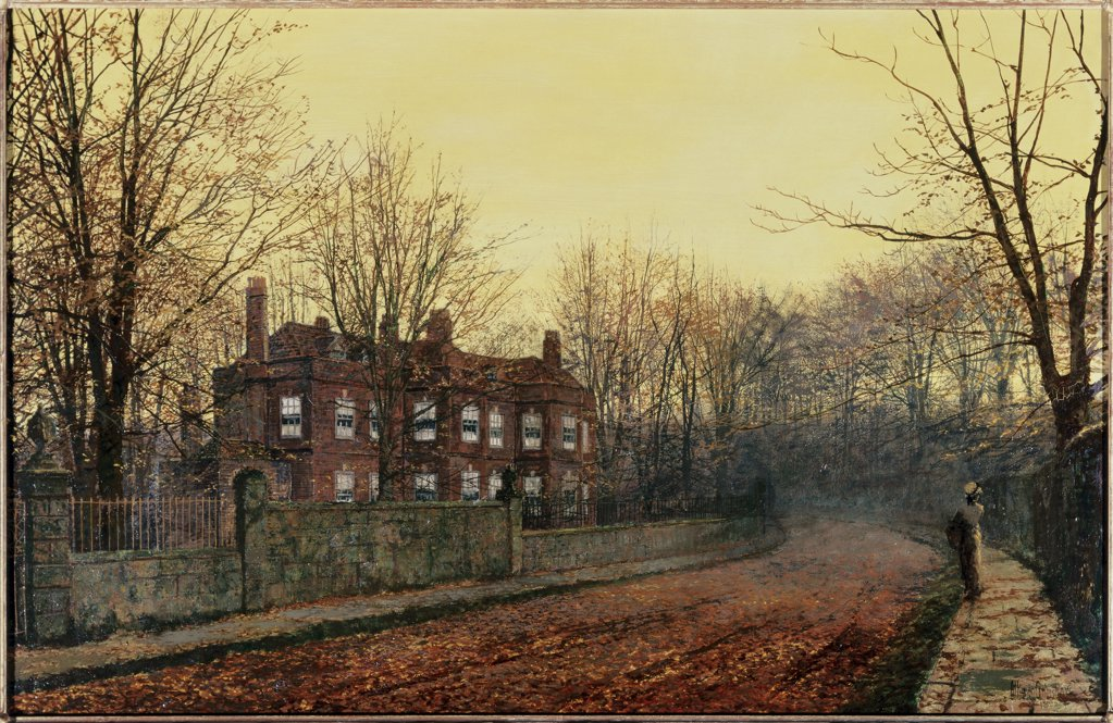 Stock Photo: 866-3818 The Waning Glory Of The Year