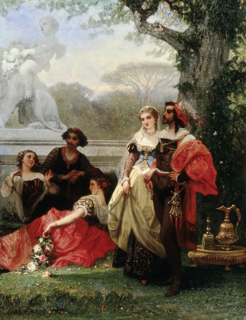 Stock Photo: 866-3949 A Fete Champetre