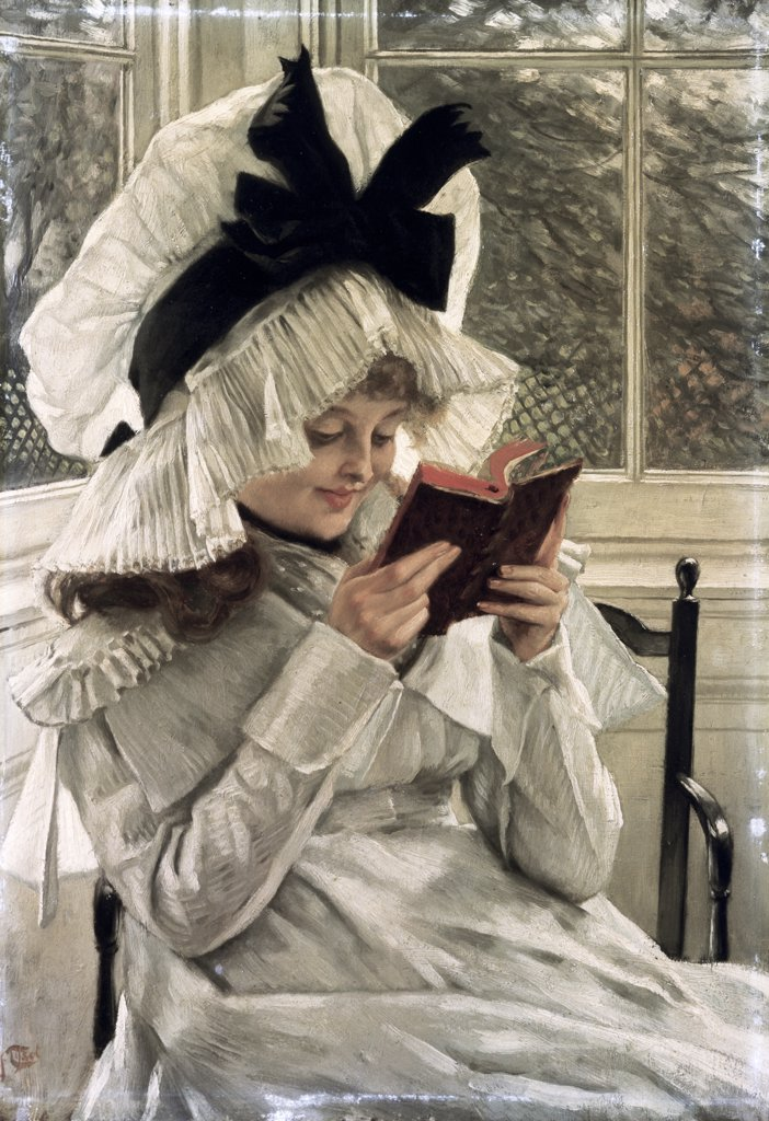 Stock Photo: 866-4196 Reading a Book 