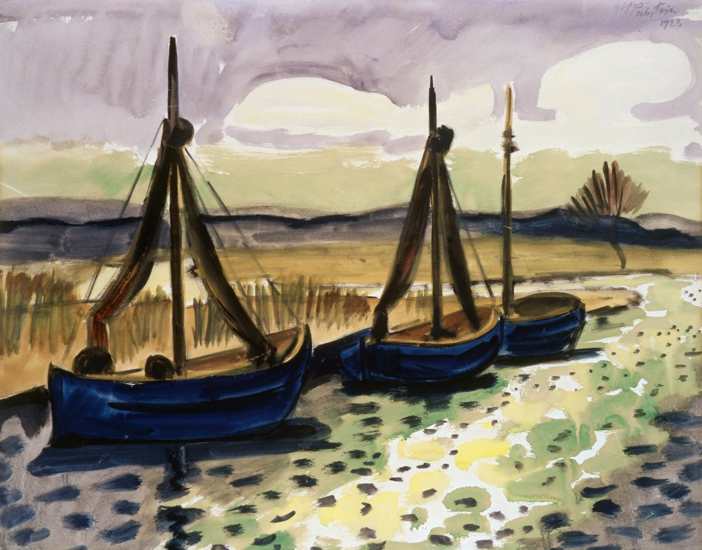 Stock Photo: 866-4279 Fischerboote (Fishing Boats) 