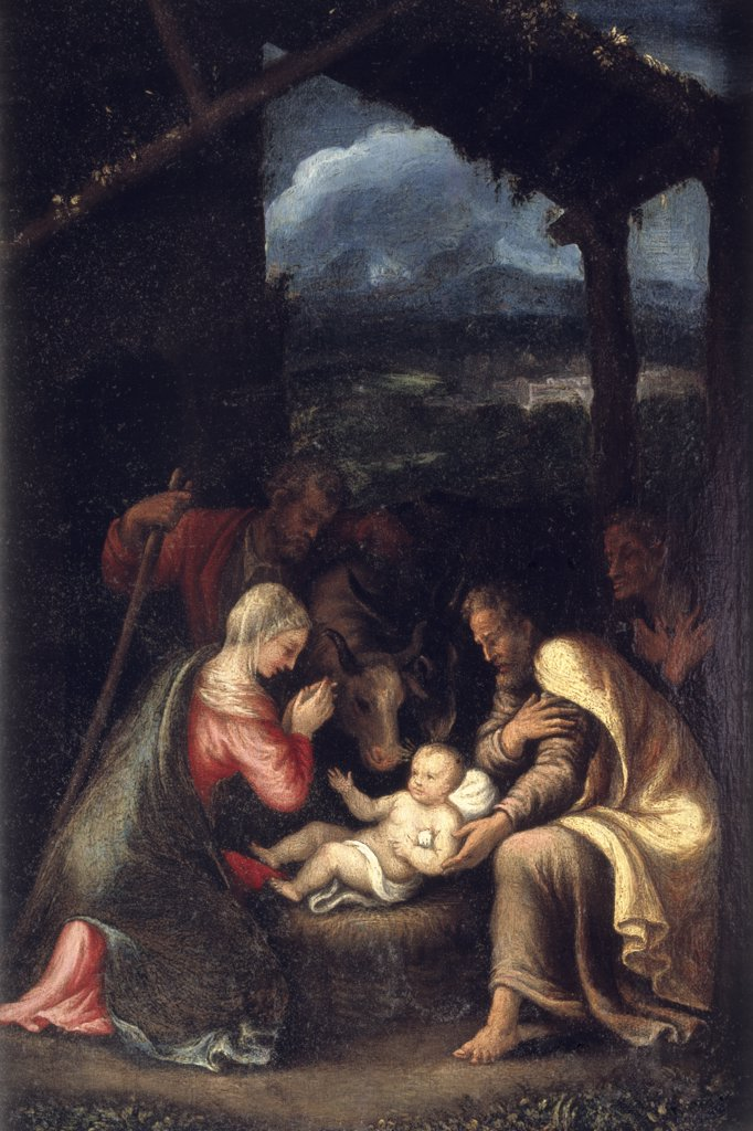 Stock Photo: 866-4427 The Nativity