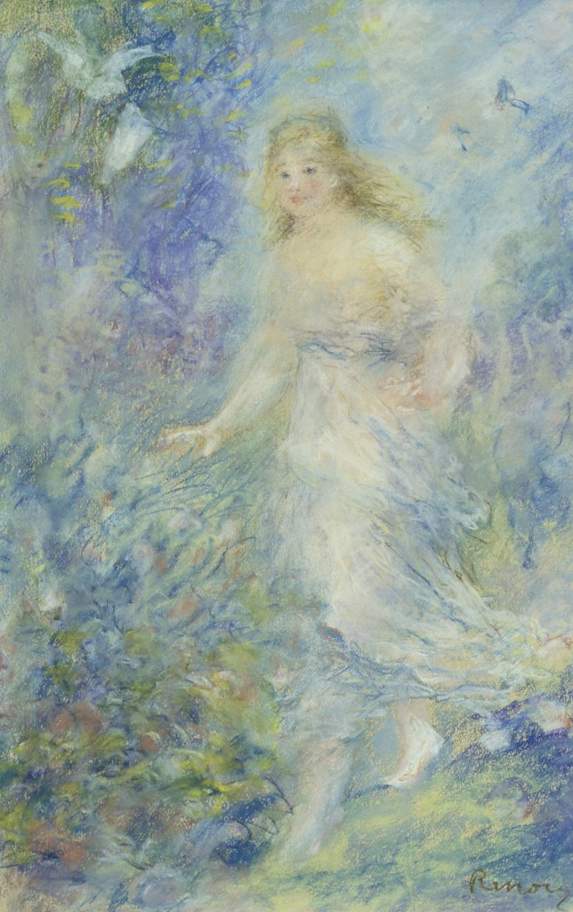 Stock Photo: 866-4732 The Spring (The Four Seasons) 
