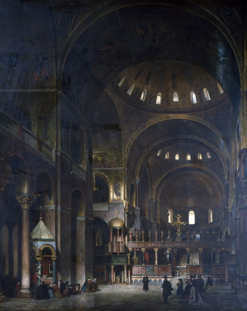 Interior of St. Marks, Venice
