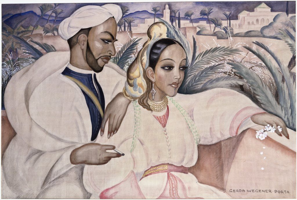 Stock Photo: 866-4818 The Admirer 