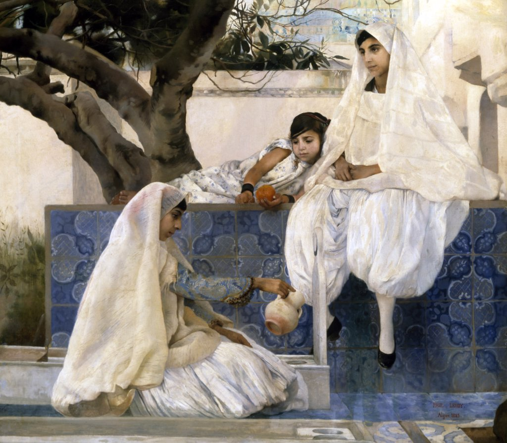Stock Photo: 866-4840 Friday in Algiers 