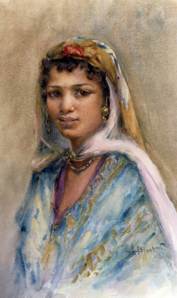 Stock Photo: 866-4856 An Algerian Woman 