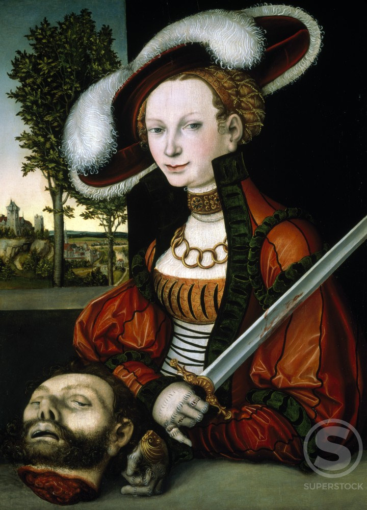 Stock Photo: 866-4857 Judith with the Head of Holofernes 