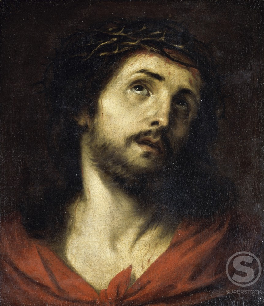 Stock Photo: 866-4943 Christ the Man of Sorrows 