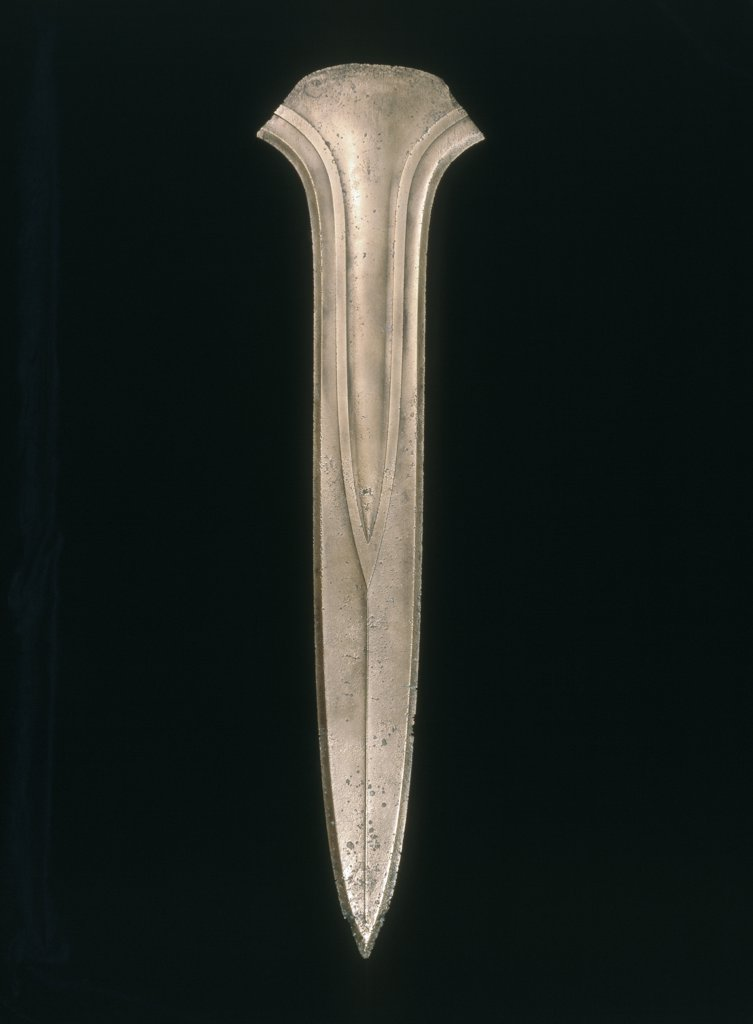 Stock Photo: 866-5091 Ceremonial Bronze Dirk, A 