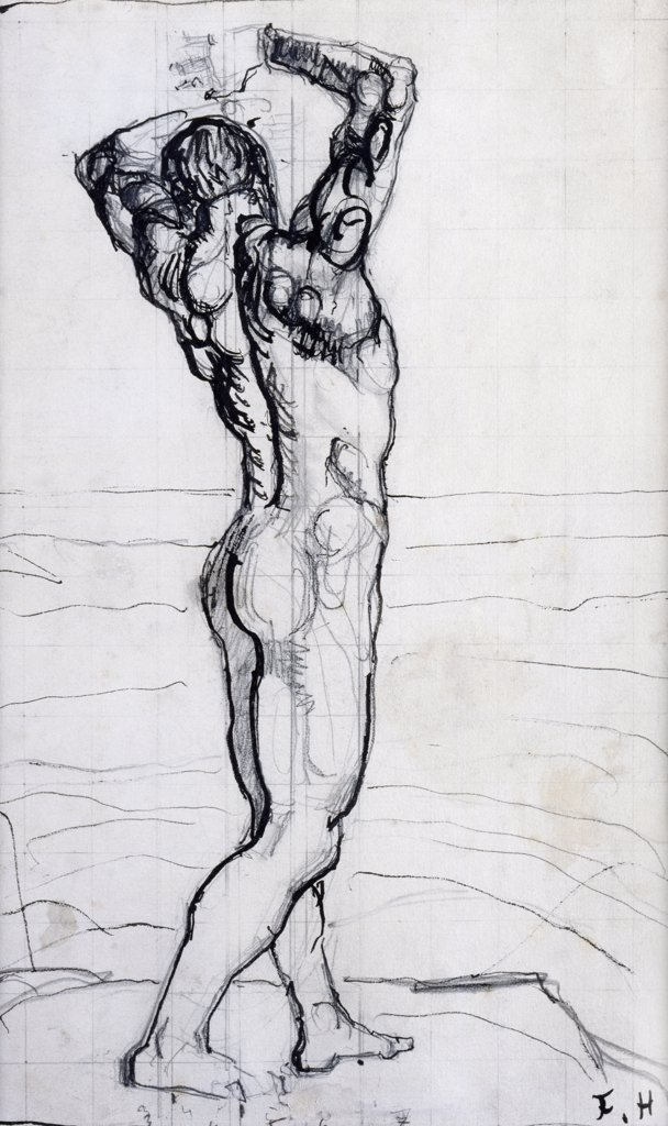 Stock Photo: 866-5161 Male Act, Study For The Truth