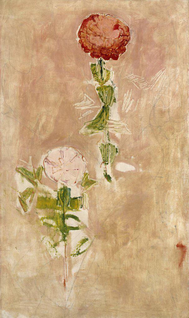 Zynien, Studie Ferdinand Hodler (1853-1918 Swiss) Oil On Canvas Christie's Images, London, England : Stock Photo
