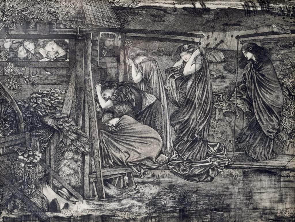 Stock Photo: 866-5194 The Wise And Foolish Virgins