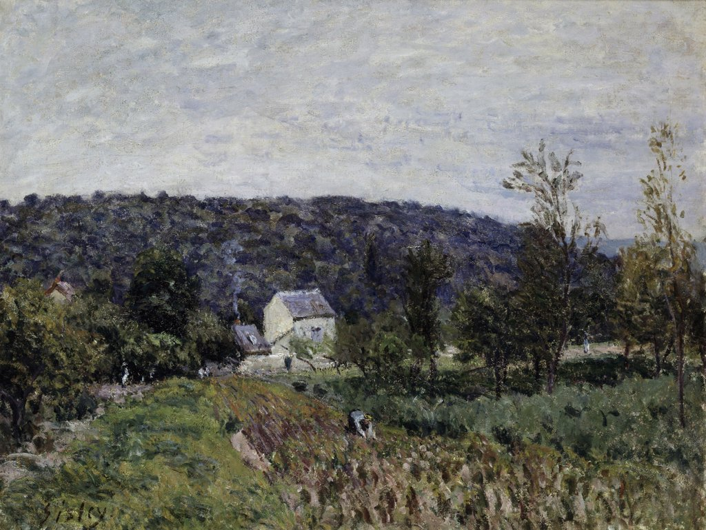 Oilsoir D'automne Aux Environs De Paris 