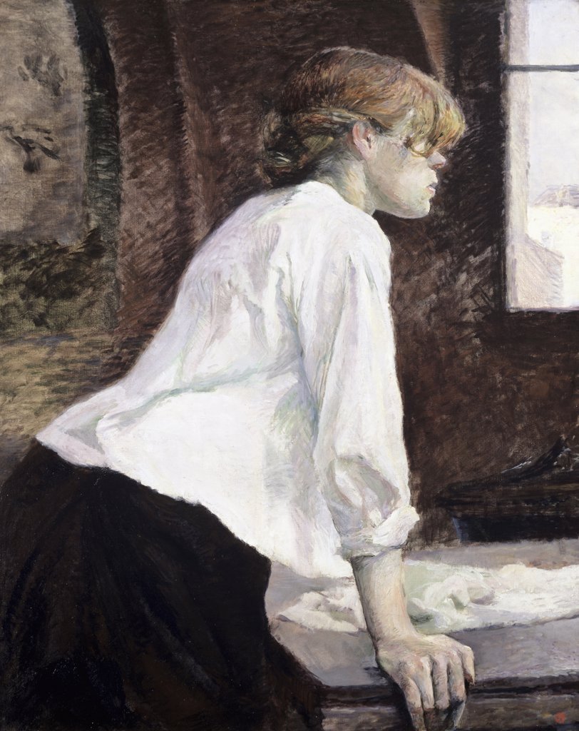 Stock Photo: 866-5228 La Blanchisseuse 