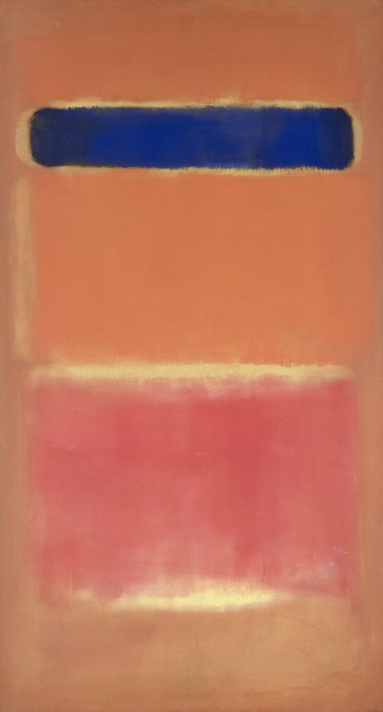 Stock Photo: 866-5275 Blue Over Red 